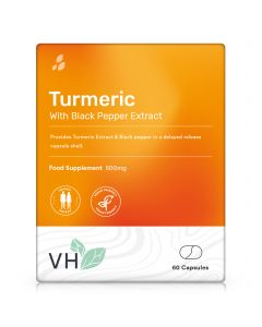 VH Turmeric 500mg with Black Pepper Extract 60 Capsules