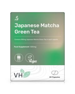 VH Japanese Matcha Green Tea 500mg 60 Capsules