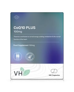 VH CoQ10 PLUS 100mg 180 Capsules