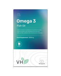 VH Omega 3 Fish Oils 1000mg 90 Softgel Capsules
