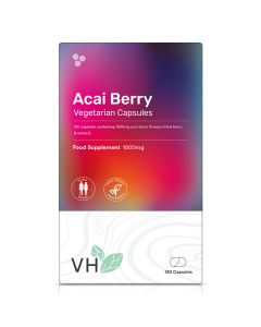VH Acai Berry 1000mg x 120 Vegetarian Capsules