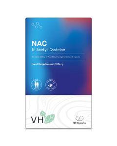VH NAC N-Acetyl-Cysteine 600mg 120 Capsules