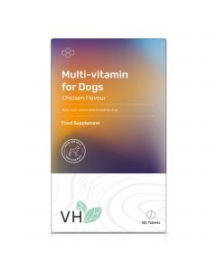VH Multi-vitamin for Dogs 120 Chicken Flavour Tablets
