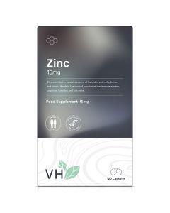 VH Zinc 15mg 120 Capsules