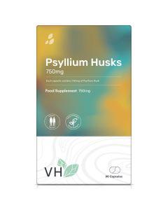 VH Psyllium Husks 750mg 90 Capsules