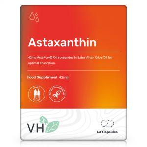 VH Astaxanthin 42mg AstaPure Oil 60 Softgel Capsules