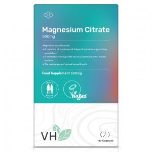 VH Magnesium Citrate 500mg 120 Capsules