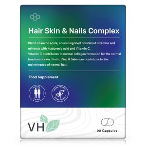 VH Hair Skin & Nails Complex 90 Vegan Capsules