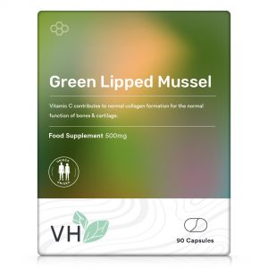 VH Green Lipped Mussel 500mg 90 Capsules