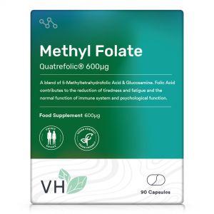 VH Methyl Folate Quatrefolic® 600µg 90 Capsules