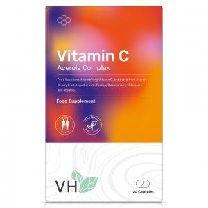 VH Vitamin C Acerola Complex (Food Form) 120 Capsules