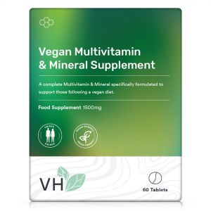 VH Vegan Multivitamin & Mineral Supplement 60 Tablets
