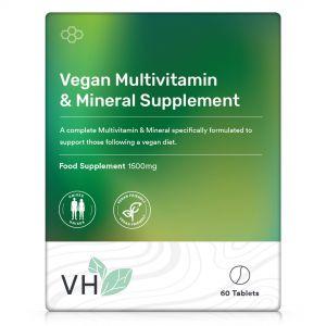 VH Vegan Multivitamin & Mineral Supplement 60 Tablets