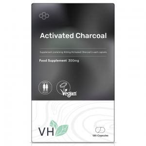 VH Activated Charcoal 300mg 120 Capsules