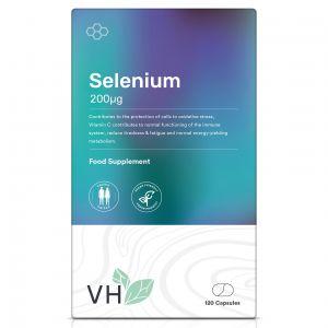 VH Selenium 200µg 120 Capsules