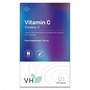 VH Vitamin C 250mg as Pureway 120 Capsules