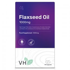 VH Flaxseed Oil 1000mg 90 Softgel Capsules